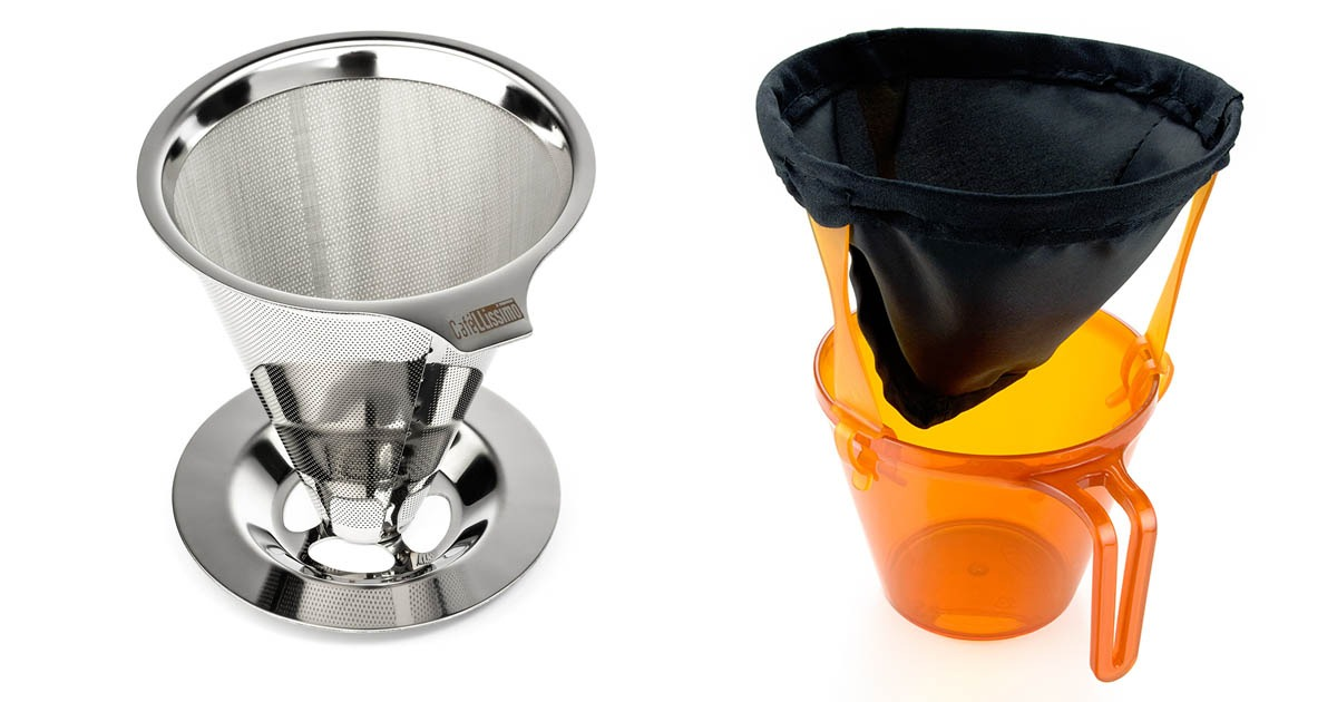 pour over drip coffee makers for camping and backpacking