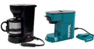 A few battery powered coffee makers for camping and road trips