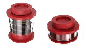 The Cafflano Portable Coffee Press can be compacted when not in use for backpacking or camping light.