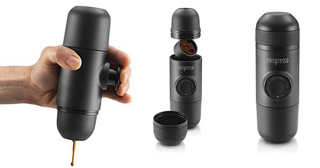 The Minipresso is an excellent camping and backpacking espresso maker.