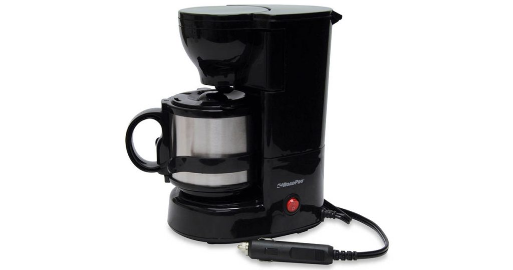 Mobile coffee maker for camping and road trips