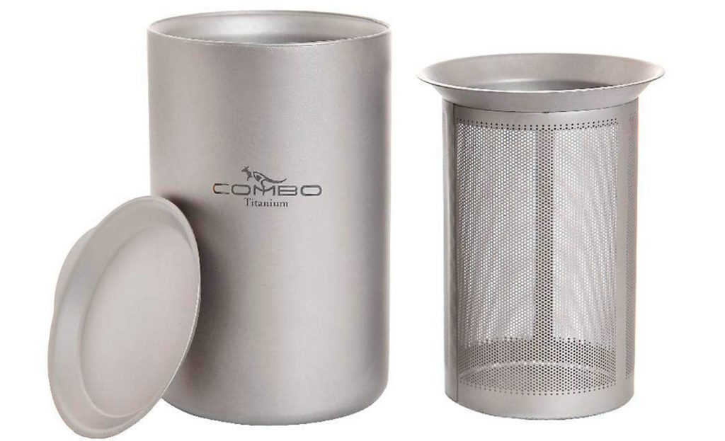 This tough coffee mug set is perfect for camping or backpacking.