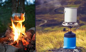 There are a lot of great ways to boil water when camping from old school campfires to high tech modern devices.